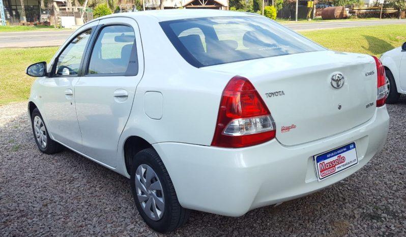 Toyota Etios XLS 1.5 2017